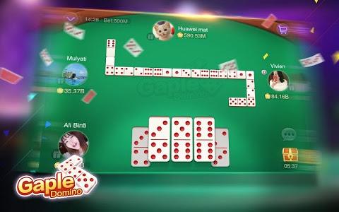 screenshot of Domino Gaple Pulsa Online(Free) version 2.2.0.0