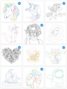 Download Dot to Dot to Coloring 1.2.3 APK