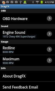 screenshot of DragFX version 3.1
