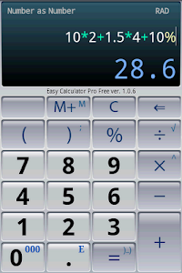 Download Easy Calculator Pro 1.3.7 APK