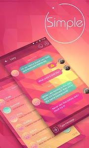 Download (FREE) GO SMS SIMPLE THEME 3.3.1 APK