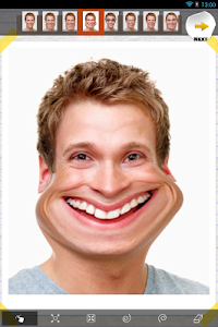 screenshot of Funny Face Effects version 2.73