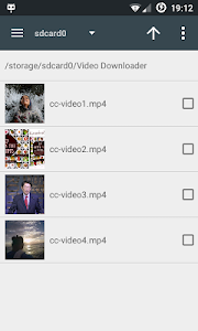 screenshot of Fastest Video Downloader version 1.4.3
