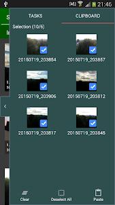 screenshot of File Selector/Explorer version 2.5.2