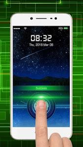 screenshot of Fingerprint lock screen version 1.3.6