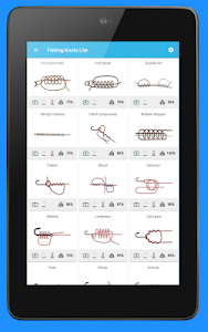 screenshot of Fishing Knots version Varies with device