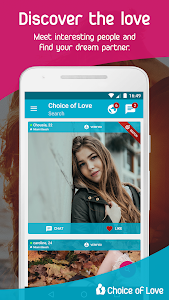 Download Free Dating & Flirt Chat - Choice of Love  APK