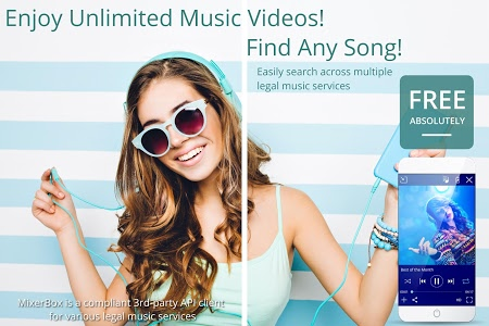 screenshot of Free Music MP3 Player (Download) version Varies with device