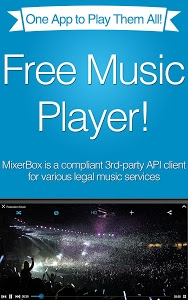 screenshot of Free Music MP3 Player(Download version Varies with device