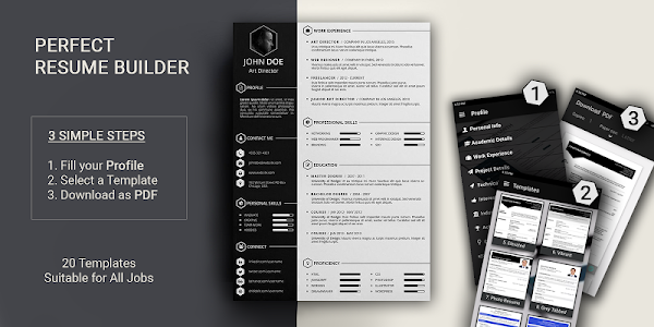 Download Free resume builder CV maker templates formats app 9.0 APK