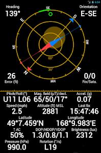 screenshot of GPS Status & Toolbox version 9.0.183