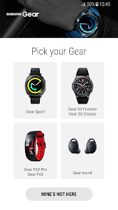 screenshot of Gear S Plugin version 2.2.03.18083041N