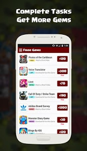 Download Free coc GEMS  free-gems-gift-cards-2.0 APK