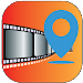 Geotagging app -location on picture photo stamp
