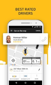 screenshot of Gett version 9.27.41