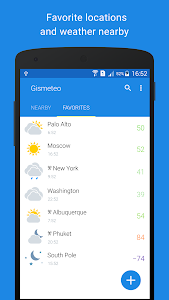 Download Gismeteo 1.1.10 APK