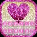 Download Glitter Heart Keyboard Theme 1.6 APK