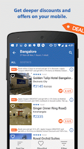 screenshot of Goibibo: Book Hotel Flight Bus version 2.2.12