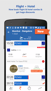 screenshot of Goibibo: Book Hotel Flight Bus version 2.1.13