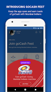 screenshot of Goibibo - Flight Hotel Bus Car IRCTC Booking App version 3.6.18