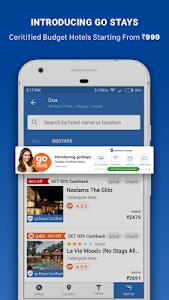 screenshot of Goibibo - Flight Hotel Bus Car IRCTC Booking App version 3.9.7