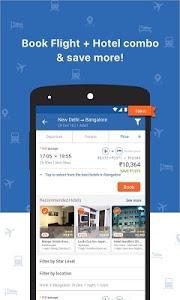 screenshot of Goibibo - Flight Hotel Bus Car IRCTC Booking App version 2.8.9.14
