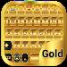 Download Gold Emoji Keyboard Theme 1.1.5 APK