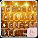 Download Gold Stars Keyboard Theme 6.12.23.2018 APK