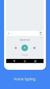 screenshot of Gboard - the Google Keyboard version Varies with device
