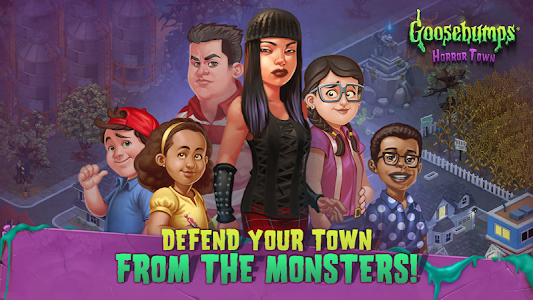 Download Goosebumps HorrorTown - The Scariest Monster City! 0.3.9 APK