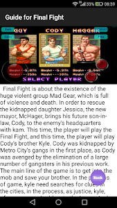 Download Guide for Final Fight 1 APK