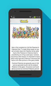 Download Guide for Pokemon Duel 1.0 APK