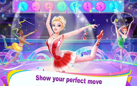 screenshot of Gymnastics Queen - Go for the Olympic Champion! version 1.0.2