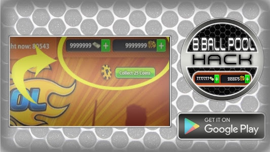 screenshot of Hack For 8 Ball Pool Cheats Fun Joke App Prank version 1.1