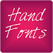 Download Hand3 fonts for FlipFont® free 9.09.0 APK