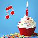 Download Happy Birthday songs: Name & Photo on cake offline 1.1 APK