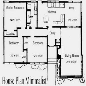 screenshot of House Plan Minimalist version 1.0.1
