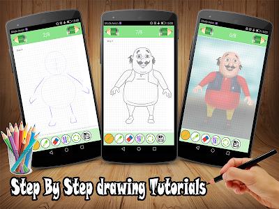 Download How To Draw Motu Patlu 6 0 Apk Downloadapk Net