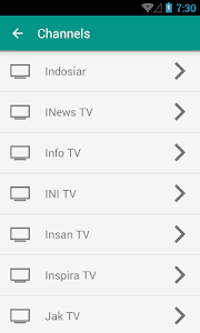 Download Indonesia TV Channels 1.0 APK