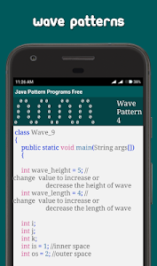 Download Java Pattern Programs Free 7.1.0 APK