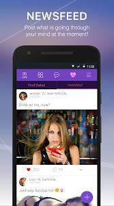 screenshot of JustDating version 3.27.1