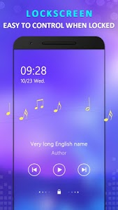 screenshot of KX Music Player version 1.5.4