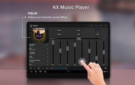 screenshot of KX Music Player version 1.4.6
