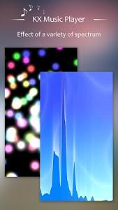 screenshot of KX Music Player version 1.3.5