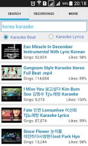 screenshot of Simple Karaoke Record version 4.0