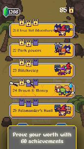 screenshot of King Crusher – a Roguelike Game version 1.0.7