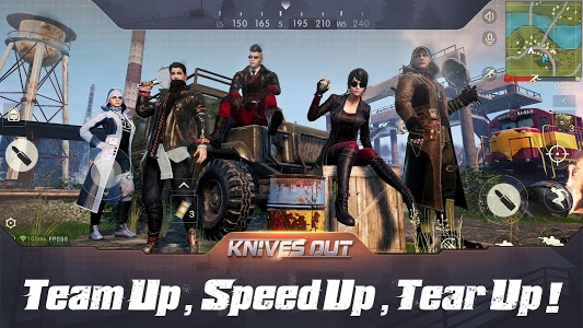 screenshot of Knives Out version 1.209.415157
