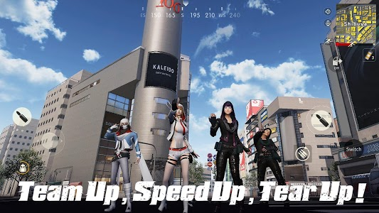 screenshot of Knives Out-Tokyo Royale version 1.220.427386