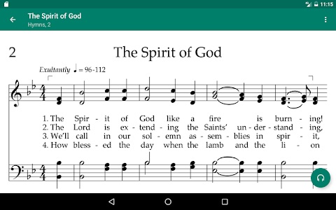 screenshot of LDS Music version Varies with device
