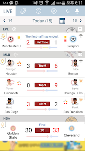 Download LIVE Score - the Fastest Real-Time Score 34.3.0 APK